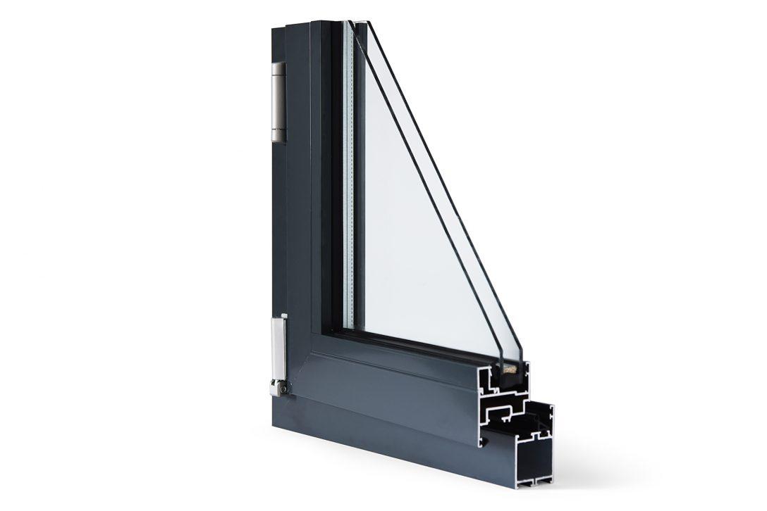 Large Size of Alu Fenster Aluminiumfenster Drutealu Mb 45 Ral8019 Braun Rahmenlose Schüco Online Holz Einbruchsicher Nachrüsten Austauschen Trier Aron Plissee Landhaus Fenster Alu Fenster