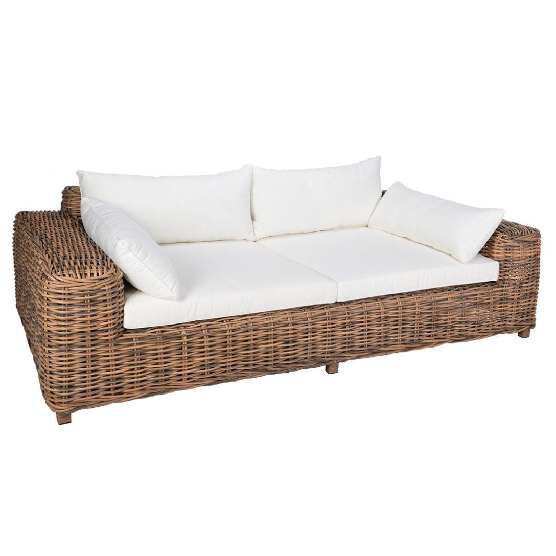 Large Size of Polyrattan Sofa 2 Sitzer Balkon Couch Grau Gartensofa Tchibo Garden Set Lounge Rattan Outdoor Outliv Versailles Luxury Geflecht Garten Und Freizeit Sofa Polyrattan Sofa