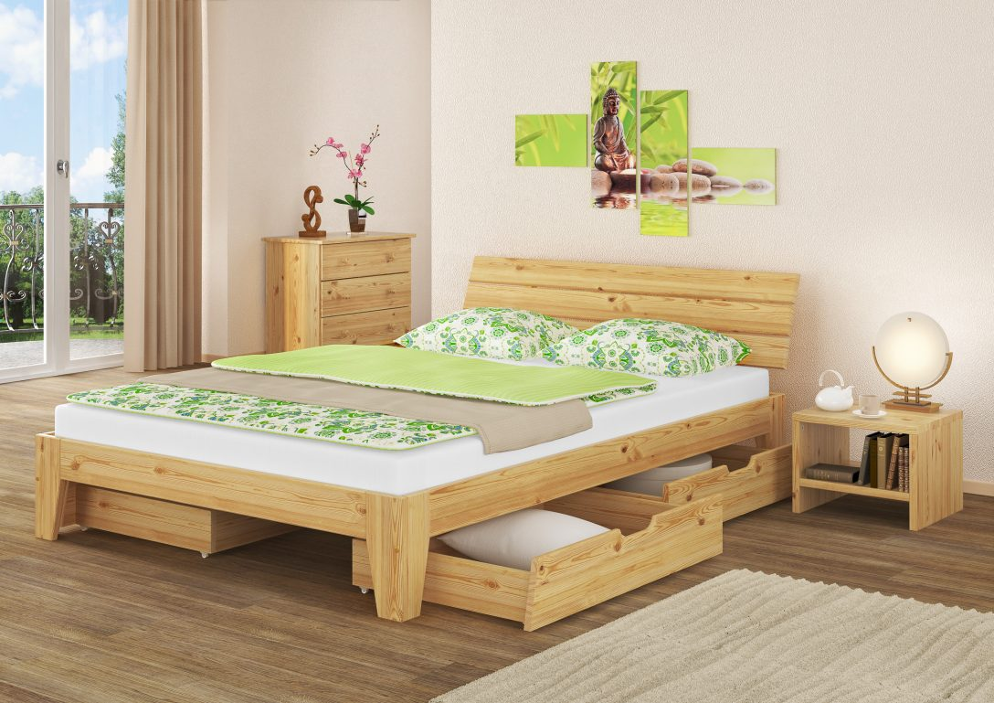 Large Size of Massivholz Bett 140x200 Mit Rollrost Betten Naturholz Aus 180x200 Oschmann Ausklappbares Amazon Sofa Holzfüßen Landhaus Schlafzimmer Billerbeck Regal Bett Betten Aus Holz