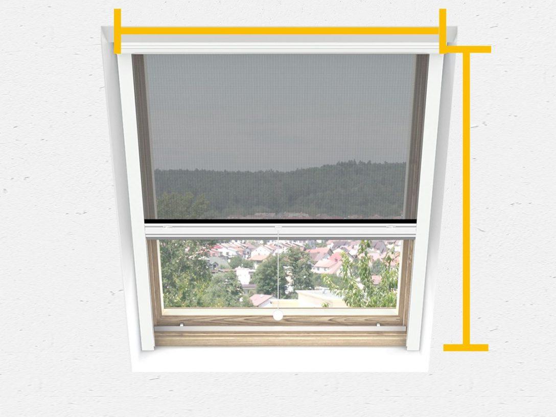 Large Size of Fliegengitter Dachfenster Insektenschutz Fr Velux Fenster Preise Sichtschutzfolie Einseitig Durchsichtig Ersatzteile Auf Maß Rollo Marken Veka Standardmaße Fenster Velux Fenster Rollo