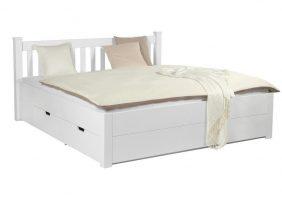 Bett Mit Schubladen Weiß
