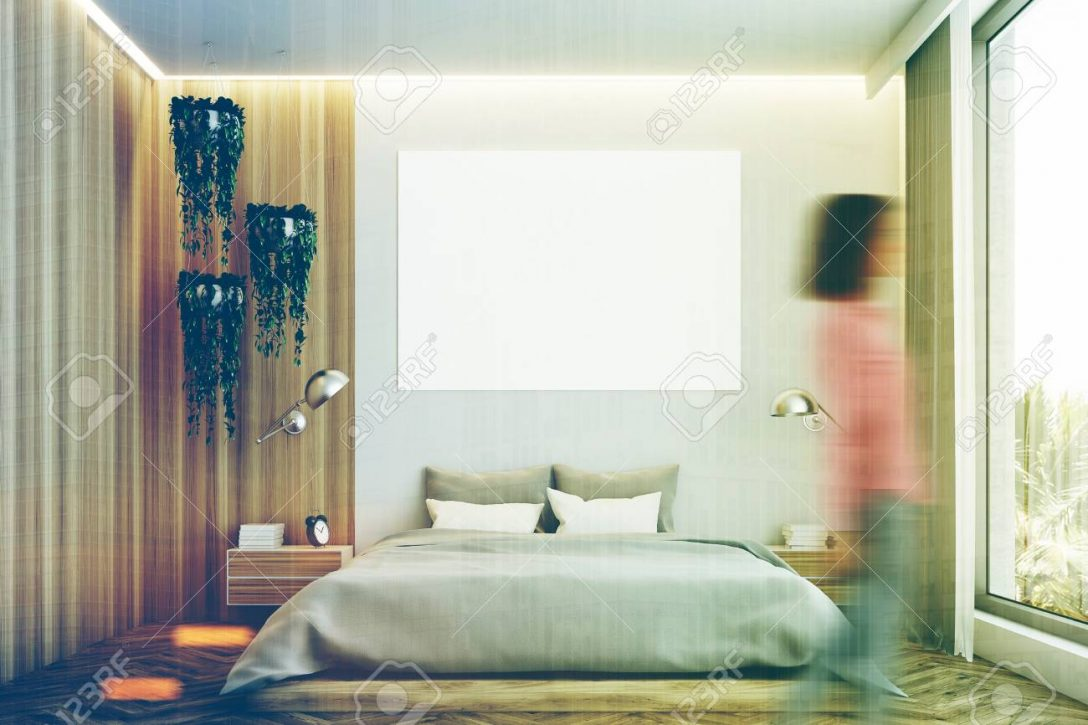 Large Size of Graues Bett Kombinieren 120x200 Samtsofa Welche Wandfarbe 140x200 Bettlaken 160x200 180x200 Dunkel Waschen Ikea Grau Und Holz Schlafzimmer Interieur Mit Einem Bett Graues Bett