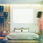 Graues Bett Kombinieren 120x200 Samtsofa Welche Wandfarbe 140x200 Bettlaken 160x200 180x200 Dunkel Waschen Ikea Grau Und Holz Schlafzimmer Interieur Mit Einem Bett Graues Bett