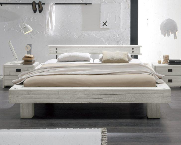 Medium Size of Modernes Bett 180x200 Massivholzbett Im Stil In Wei Kaufen Buena Coole Betten Paradies Mit Rutsche Runde Günstig Hülsta Unterbett Rausfallschutz Schrank Bett Modernes Bett 180x200