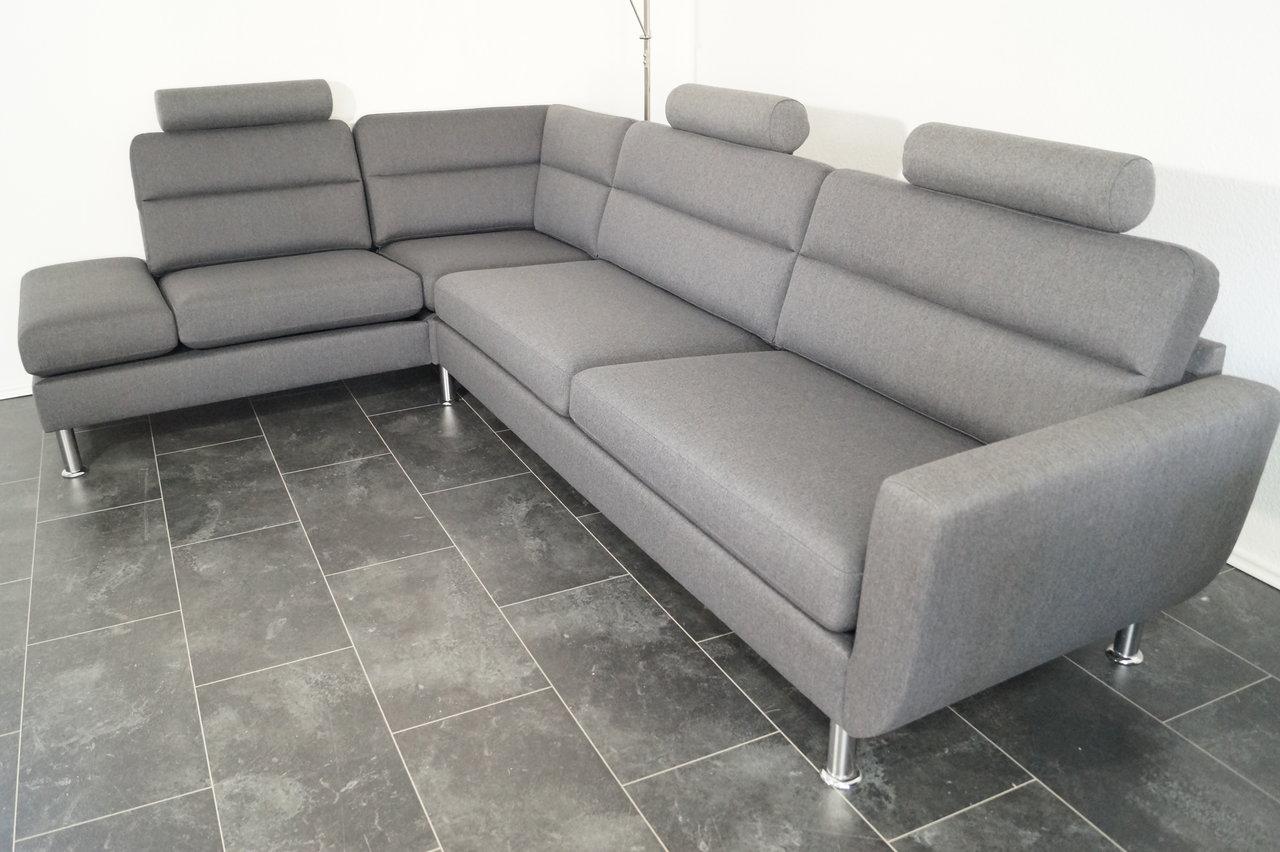 Full Size of Xxl Sofa Grau Couch Webstoff Inkl 3 Kopfsttze Herzlich Indomo Megapol Graues Franz Fertig Stoff Großes Recamiere Weiß Federkern Rattan Leder Kleines Sofa Xxl Sofa Grau