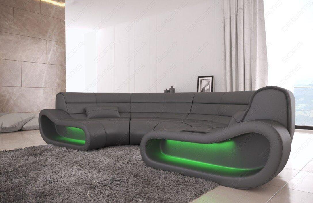Large Size of Big Sofa Concept In Leder Und Der Farbe Grau Höffner Garnitur Mit Hocker Polster Reinigen Groß Benz Home Affair Rattan Garten Relaxfunktion Xxl U Form Sofa Big Sofa Grau