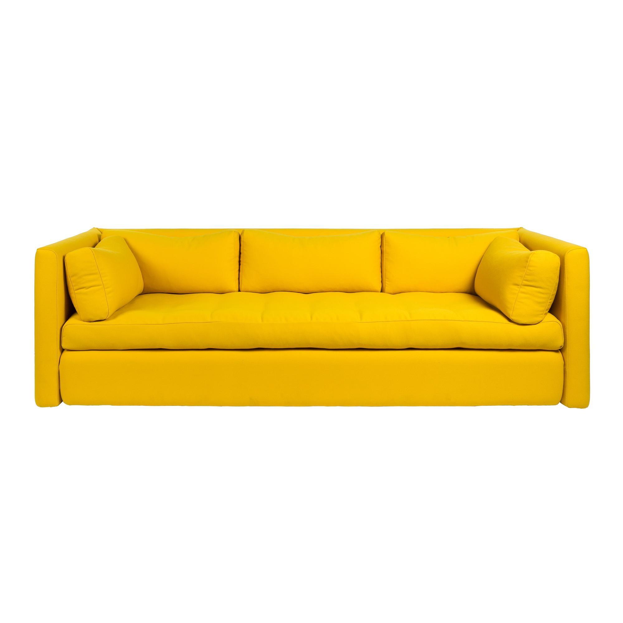 Full Size of Hay Hackney 3 Sitzer Sofa Ambientedirect Kleines Wohnzimmer Bunt Xxxl Breit Ewald Schillig Mit Elektrischer Sitztiefenverstellung Halbrundes In L Form Großes Sofa Sofa Gelb