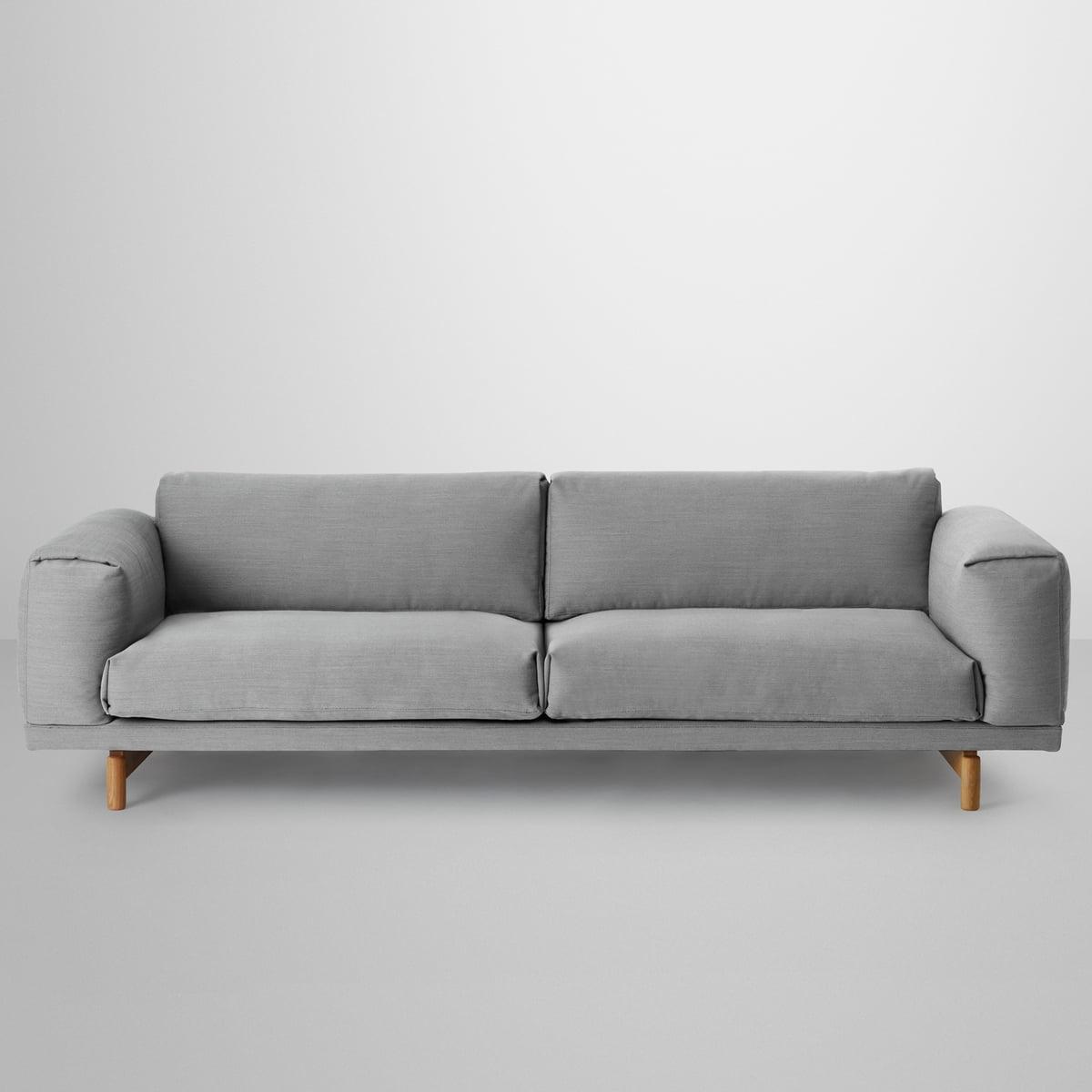 Full Size of Rest Sofa 3 Sitzer Von Muuto Connoshop Himolla Eck Le Corbusier Leinen Rolf Benz Barock Chesterfield Grau 2 5 Höffner Big Garten Ecksofa Relaxfunktion Sofa Sofa 3 Sitzer