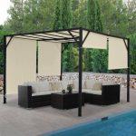 Pergola Baia Lounge Set Garten Feuerstelle Im Schwimmingpool Für Den Wassertank Vertikal Sitzgruppe Sitzbank Sessel Sauna Skulpturen Bewässerung Holzbank Garten Pavillon Garten