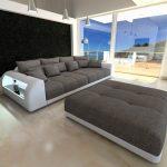 Big Sofa Miami Couch Mit Beleuchteten Armlehnen Bezug Ecksofa Ottomane Indomo Walter Knoll L Form Polster Reinigen Benz Franz Fertig Ohne Lehne Türkische Erpo Sofa Big Sofa Xxl