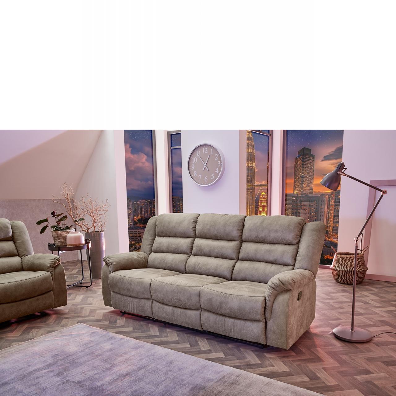 Full Size of Couch Grau 2 Und 3 Sitzer Sofa 3 Sitzer Nino Schwarz/grau Retro Kingsley Leder Ikea Louisiana (3 Sitzer Mit Polster Grau) Schlaffunktion Samt 3er Cleveland In Sofa Sofa 3 Sitzer Grau