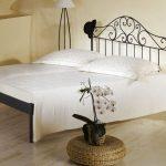 Romantisches Bett Bett Romantisches Bett Spanisches Metallbett Z B 140x200 Cm In Braun Loria Betten Holz Stabiles Tatami Tagesdecke 190x90 Mit Aufbewahrung Rauch Ausziehbares