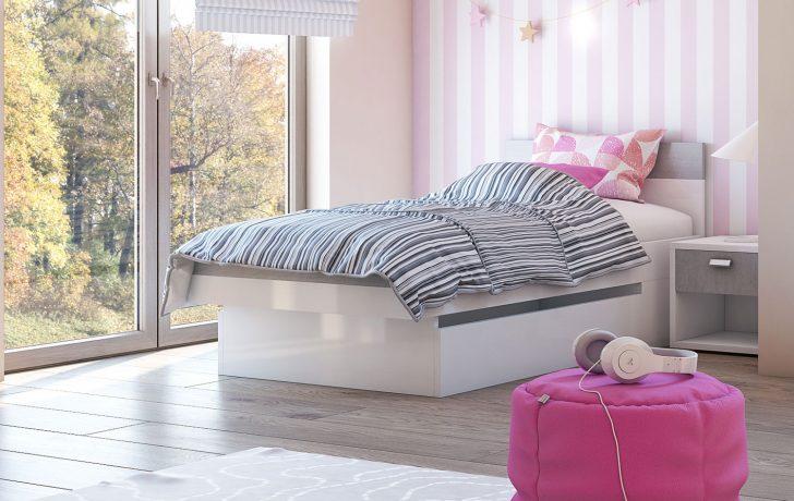 Medium Size of Bett Einzelbett Futonbett Kinderbett Wei Beton Colorado Kopfteil Selber Machen Schrank Jugendzimmer Prinzessin Wand Hasena Betten 90x200 Mit Lattenrost Bett Bett Einzelbett