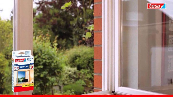 Medium Size of Bodentiefe Fenster Tesa 55918 21 Fliegengitter Comfort Fr Sichtschutzfolie Einseitig Durchsichtig Sonnenschutz Verdunkelung Auf Maß Flachdach Fenster Bodentiefe Fenster