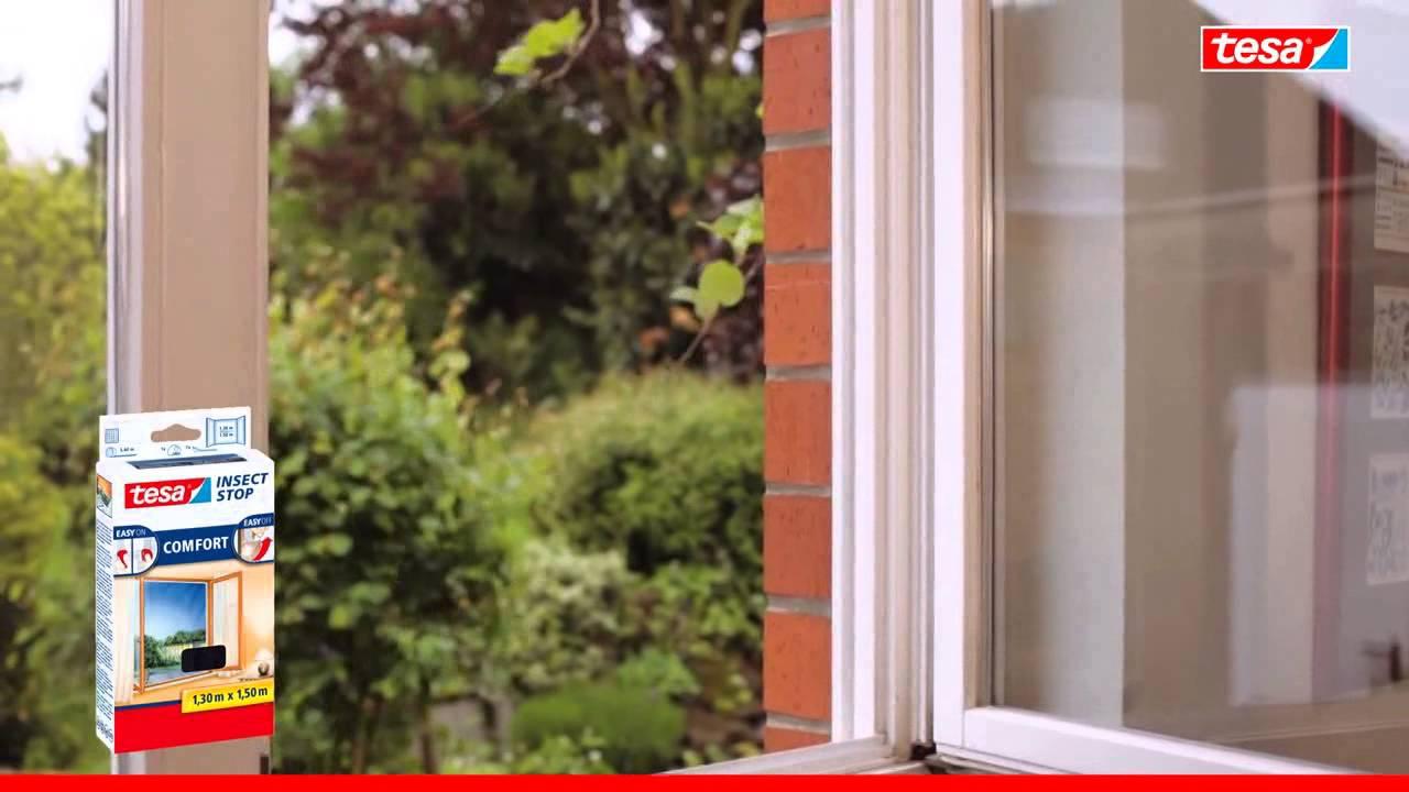 Full Size of Bodentiefe Fenster Tesa 55918 21 Fliegengitter Comfort Fr Sichtschutzfolie Einseitig Durchsichtig Sonnenschutz Verdunkelung Auf Maß Flachdach Fenster Bodentiefe Fenster