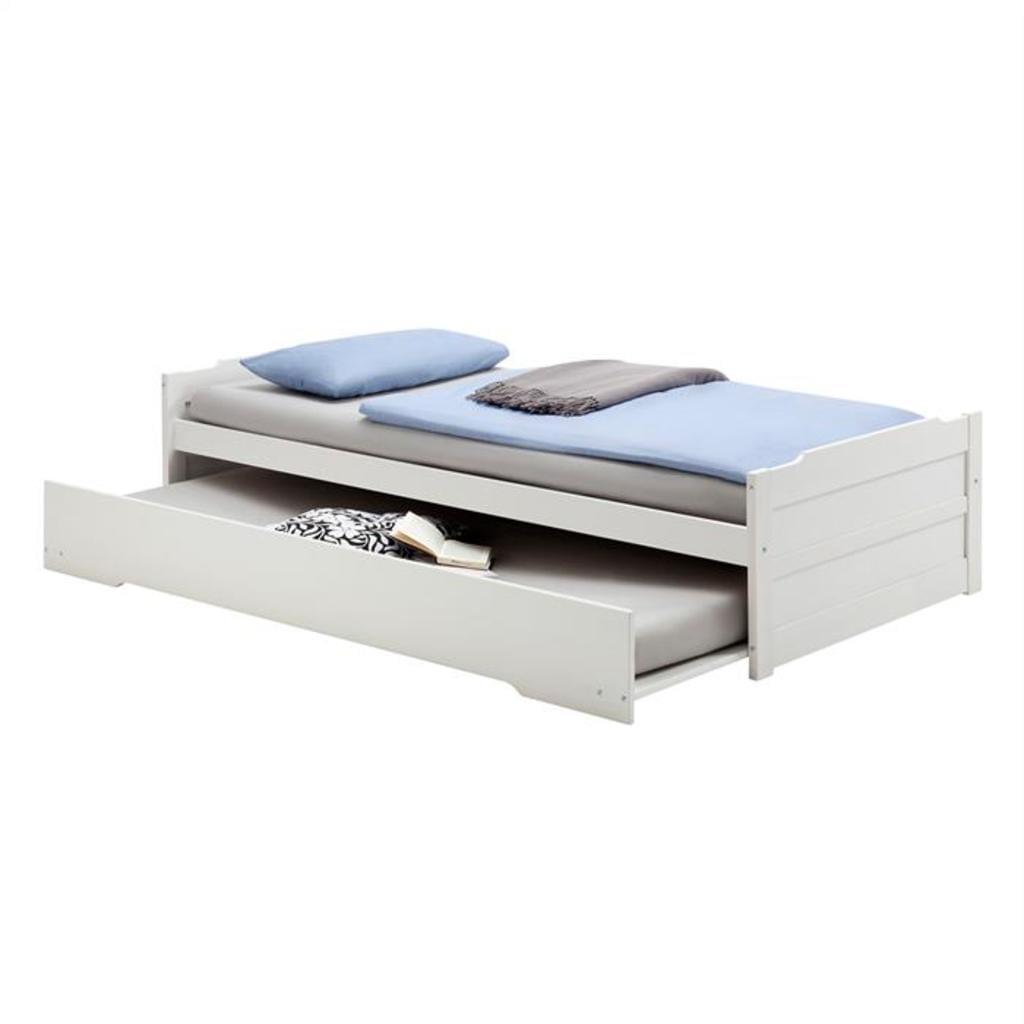 Full Size of Bett 190x90 Tandembett Lorena Wei 190 90 Cm Kinderbett Real Amazon Betten Mit Aufbewahrung Bette Badewanne 200x220 Schubladen 160x200 Matratze Und Lattenrost Bett Bett 190x90