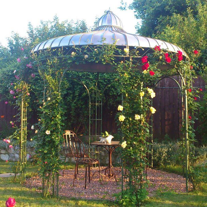 Medium Size of Garten Pavillion Pavillon 3x3 Holz / Metallpavillon Sun Antik Kupfer Look Luxus Rund Rundes Dach Metall Wetterfest Gartenpavillon Aus Glas Baugenehmigung Eisen Garten Garten Pavillion