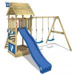 Wickey Spielturm Kletterturm Smart Shelter Mit Holzdach Garten Pavillon Mini Pool Bewässerungssysteme Loungemöbel Klettergerüst Ausziehtisch Garten Kletterturm Garten