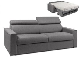Sofa Grau Stoff