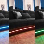 Sofa Mit Led Sofa Sofa Mit Led Couch Schwarz Flexform Für Esszimmer Big Sam Leder Braun Boxspring Schlaffunktion Einbaustrahler Bad Dauerschläfer 3 Sitzer Innovation Berlin