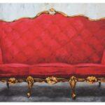 Rotes Sofa Sofa Rotes Sofa Renate Berghaus Poster Artgalerie Bildershop Polyrattan Verkaufen Bezug Leinen Mit Verstellbarer Sitztiefe Weißes Hülsta Chippendale Kissen Bora