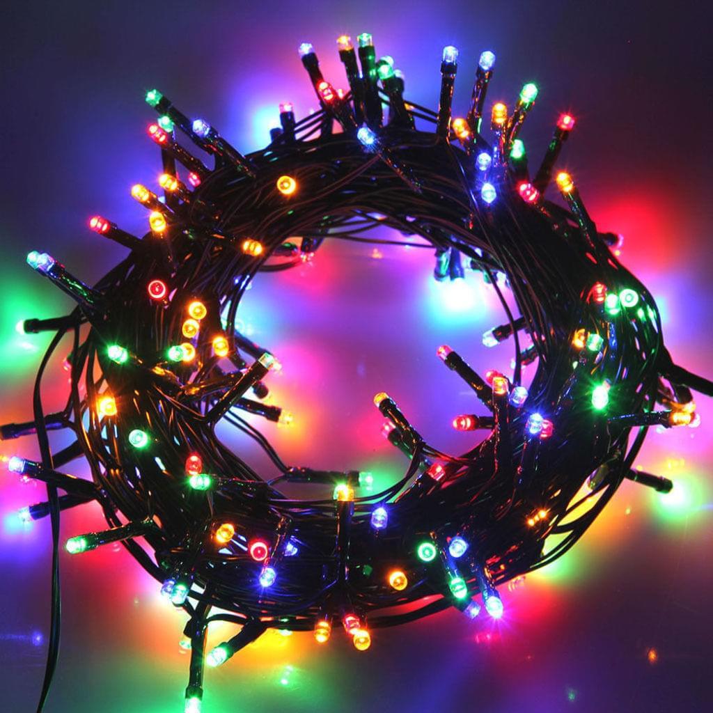 Full Size of 100 Led Lichterkette 10 Meter Weihnachtsbeleuchtung Real Fenster De Rahmenlose Neue Einbauen Sicherheitsfolie Roro Mit Rolladenkasten Sichern Gegen Einbruch Fenster Weihnachtsbeleuchtung Fenster