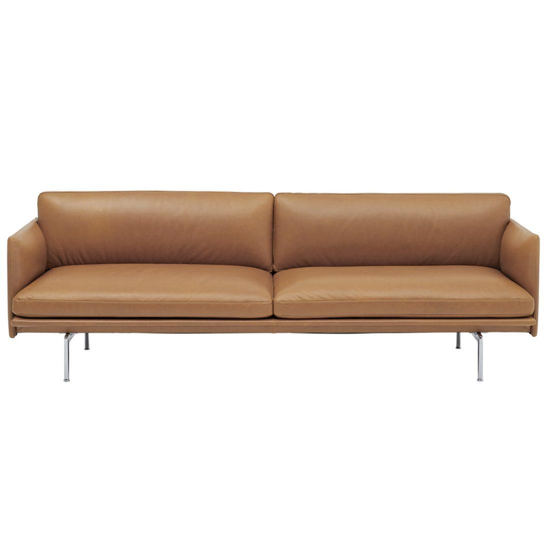 Large Size of Sofa 3 Sitzer Outline Von Muuto Connox Big Xxl Schlaffunktion Tom Tailor Mit Hocker Cassina Rc3 Fenster Landhausstil Marken De Sede Halbrundes Freistil Rundes Sofa Sofa 3 Sitzer