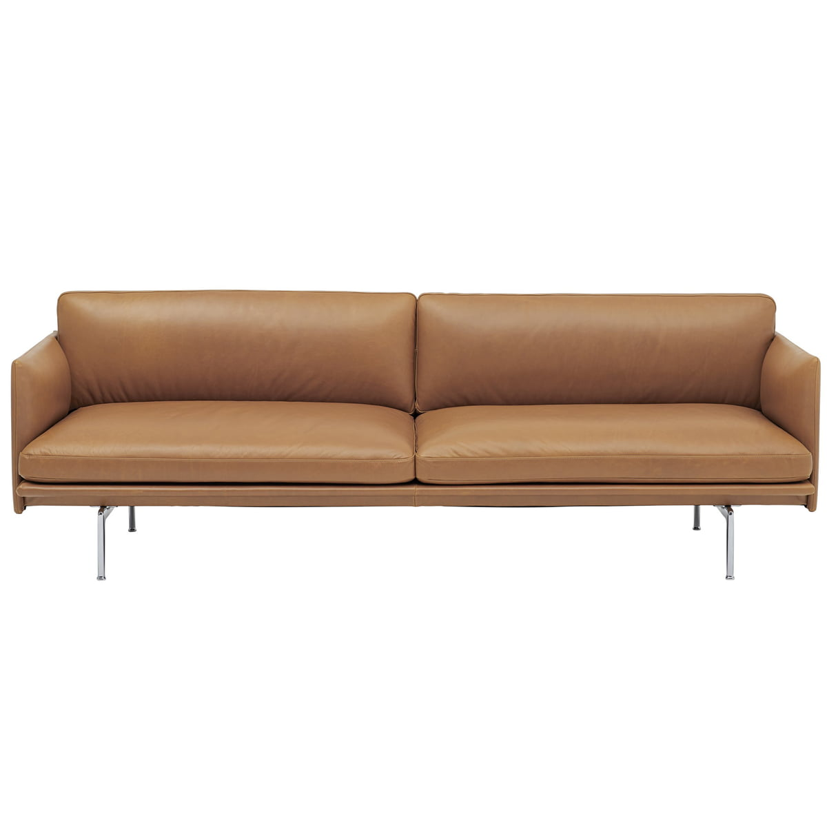 Full Size of Sofa 3 Sitzer Outline Von Muuto Connox Big Xxl Schlaffunktion Tom Tailor Mit Hocker Cassina Rc3 Fenster Landhausstil Marken De Sede Halbrundes Freistil Rundes Sofa Sofa 3 Sitzer