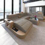Xxl Sofa Grau Sofa Landhaus Sofa Inhofer Big Xxl Weiches Garnitur 2 Teilig Mit Verstellbarer Sitztiefe Auf Raten U Form 3er Grau Weiß