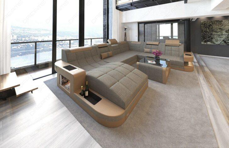 Medium Size of Landhaus Sofa Inhofer Big Xxl Weiches Garnitur 2 Teilig Mit Verstellbarer Sitztiefe Auf Raten U Form 3er Grau Weiß Sofa Xxl Sofa Grau