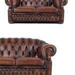 Chesterfield Leder Sofa Orange Braun Zweisitzer Couch Vintage Mit Holzfüßen Luxus Englisch Jugendzimmer Federkern Gebrauchtwagen Bad Kreuznach Home Affaire Sofa Chesterfield Sofa Gebraucht