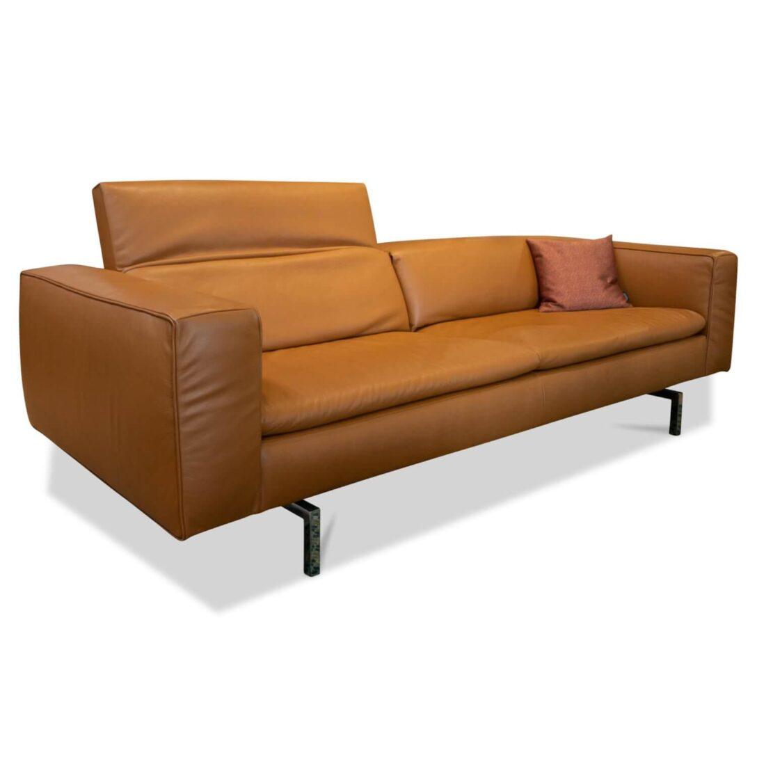 Large Size of Sofa Cognac Shiva Jr 3990 Leder Lipano Mit Klappbaren Garnitur Tom Tailor Schlafsofa Liegefläche 160x200 Reiniger Goodlife 3 Sitzer Kissen Bettfunktion Big Sofa Sofa Cognac