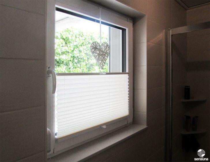 Medium Size of Plissee Fenster Montage Ohne Bohren Ins Klemmen Innen Soluna Montageanleitung Sichtschutz Am Badezimmer Dank Neuem Sensuna Drutex Sonnenschutz Welten Fenster Plissee Fenster