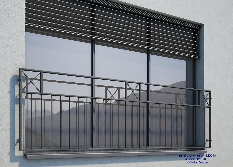 Full Size of Fenster Anthrazit Franzsischer Balkon Md05ap Ral7016 Design Shop Baalckede Absturzsicherung Velux Kaufen Dampfreiniger Einbau Insektenschutz Ohne Bohren Rollos Fenster Fenster Anthrazit