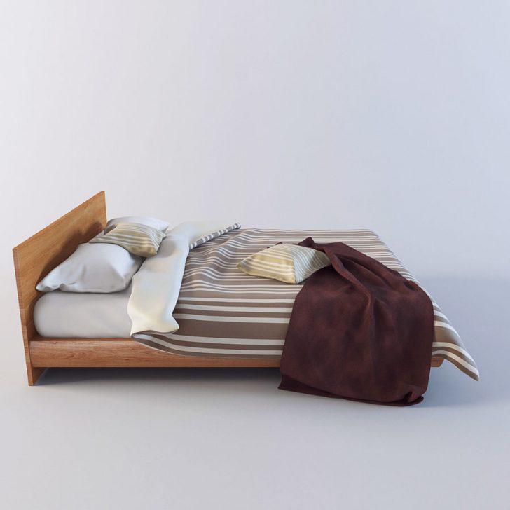 Medium Size of Modernes Bett 3d Modell 39 Obj Mafb3ds Mit Matratze Bettkasten Betten Holz 120x200 Kopfteil Selber Machen De Günstige 140x200 180x200 Rauch Himmel Bett Modernes Bett