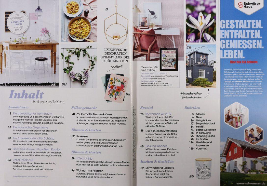 Large Size of Wohnen Und Garten Abo Landhaus Living 2 2019 Zeitungen Zeitschriften Online Sri Lanka Rundreise Baden Holzhaus Kind Rattenbekämpfung Im Bad Sanitär Garten Wohnen Und Garten Abo