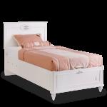 Bett Weiß 100x200 Komfort Cilek Mit Bettkasten Romantica Cm Amerikanische Betten Schlafzimmer Kommode 90x200 Kleines Regal Hängeschrank Hochglanz Wohnzimmer Bett Bett Weiß 100x200