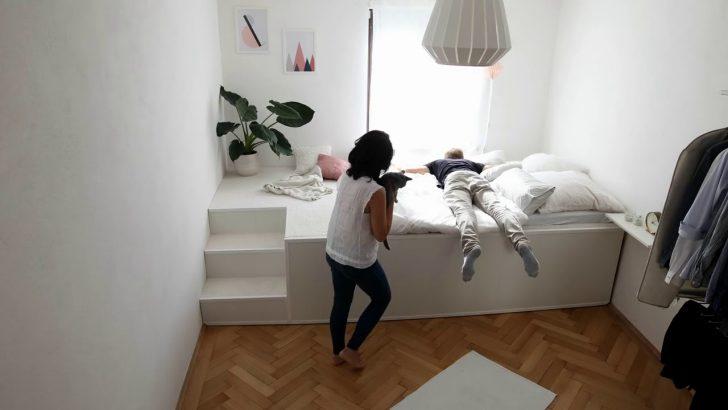 Medium Size of Podest Betten Podestbett Mit Stauraum Bauen Bett Selber Kaufen 160x200 Diy Ikea Hack Darunter Kopfteil Jugend Luxus Weiss Günstige Ruf Fabrikverkauf Bett Podest Bett