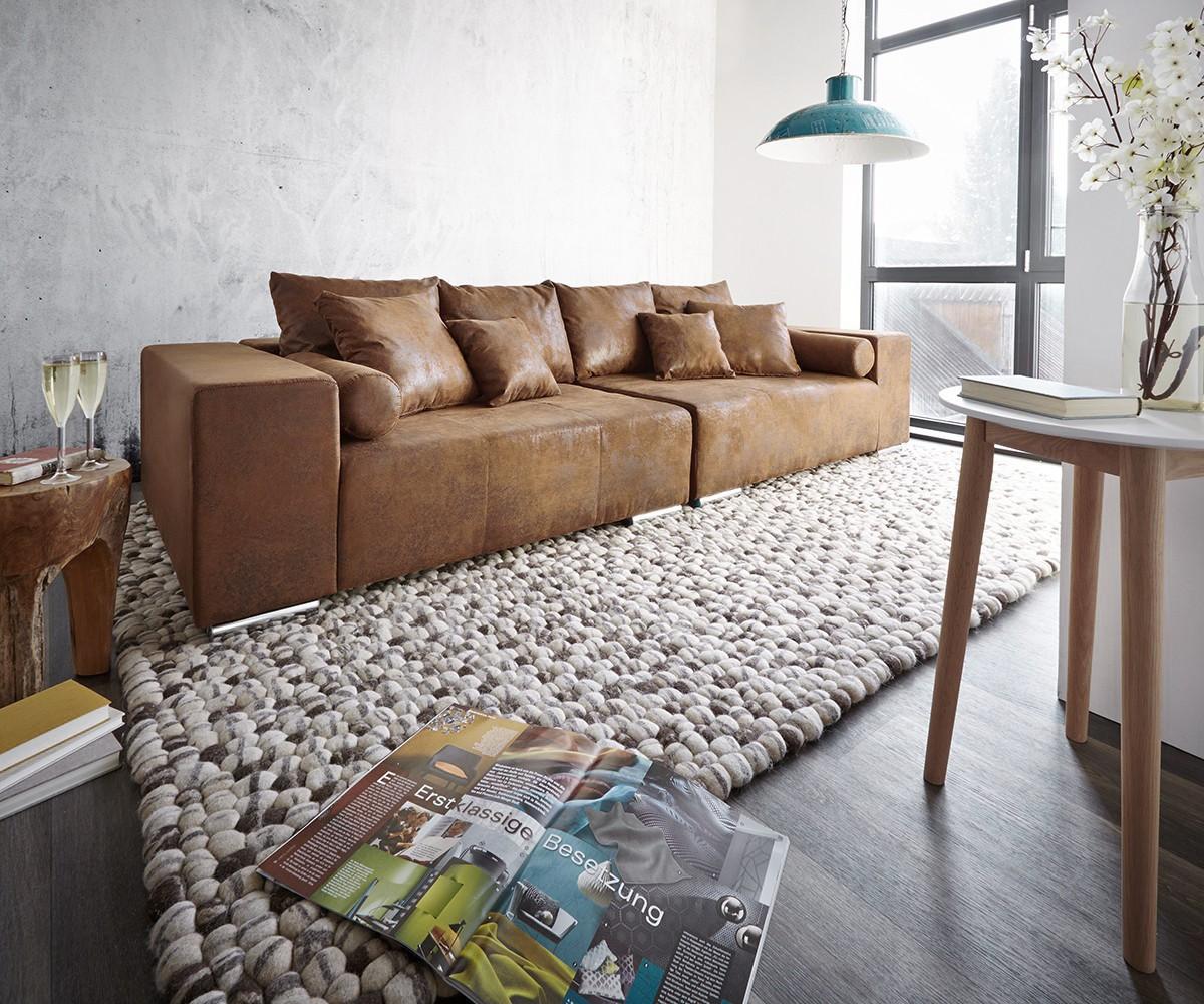 Full Size of Big Sofa Mit Schlaffunktion Marbeya 285x115 Cm Braun Antik Optik Hocker Mbel 2 Sitzer Relaxfunktion Elektrisch L Form Küche Kaufen Elektrogeräten Sofa Big Sofa Mit Schlaffunktion