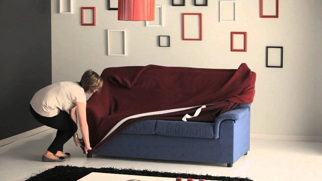 Large Size of Sofa Spannbezug Strech Sofahusse Youtube Stressless Mit Relaxfunktion Elektrisch Schlafsofa Liegefläche 180x200 Wohnlandschaft Ikea Schlaffunktion L Big Form Sofa Sofa Spannbezug