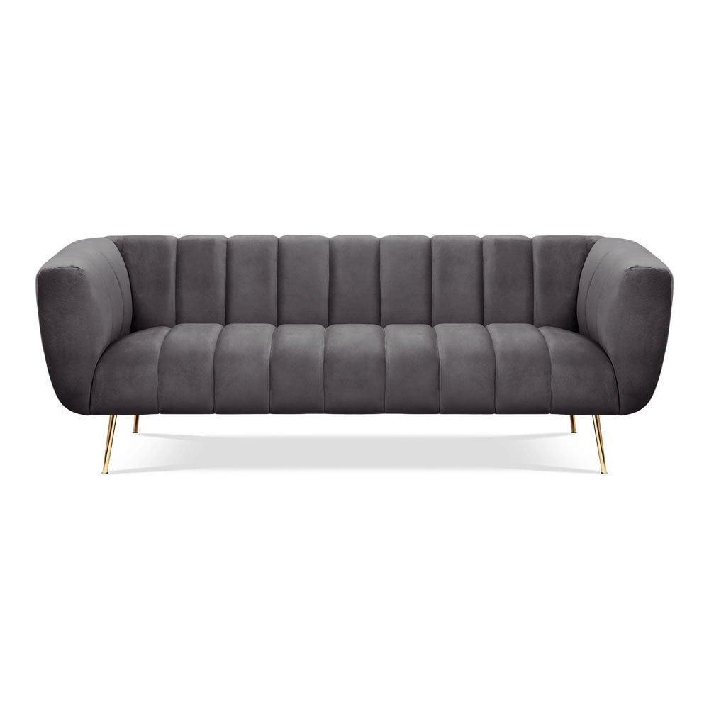 Full Size of Ikea Couch Grau 3 Sitzer 2 Und Sofa 3 Sitzer Nino Schwarz/grau Leder Mit Schlaffunktion Rattan Samt Retro Kingsley Vivienne Graue Moderne Samtsofas Türkische Sofa Sofa 3 Sitzer Grau