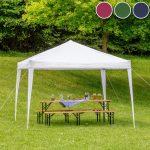 Garten Pavillion 3x3 Gartenpavillon Metall Rund Pavillon Aus Holz Glas Zelt 3x4 Wetterfest Rundes Dach Luxus Faltbarer 3x3m Gnstig Online Kaufen Tectake Garten Garten Pavillion