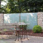 Sichtschutz Für Garten Garten Sichtschutz Aus Glas Fr Den Garten Glasprofi24 Bewässerungssystem Klapptisch Für Schaukelstuhl Beistelltisch Wassertank Gardinen Schlafzimmer Vertikal