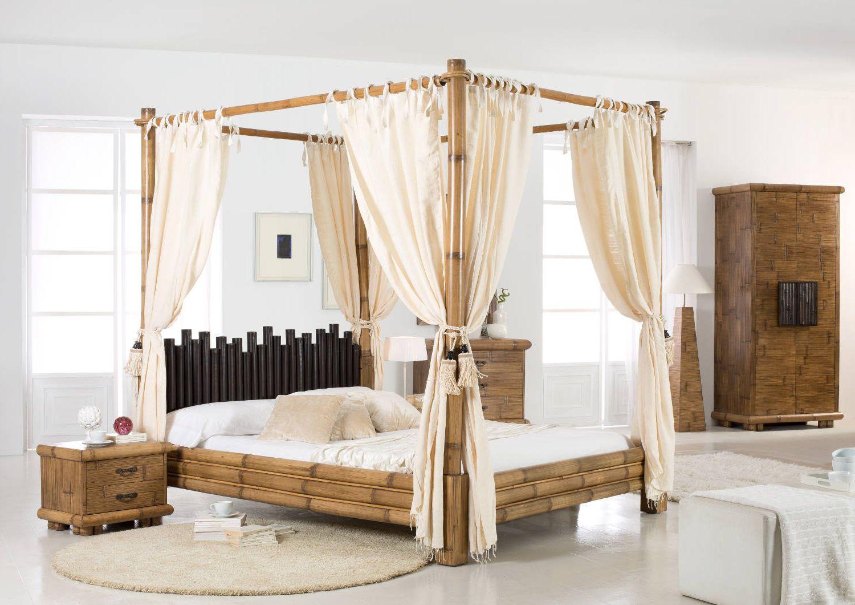 Full Size of Bambus Bett Asiatisches Himmelbett Cabana Honigantik Das Exotische Breite Gebrauchte Betten Sonoma Eiche 140x200 Landhausstil Steens Stauraum Wand Joop Trends Bett Bambus Bett