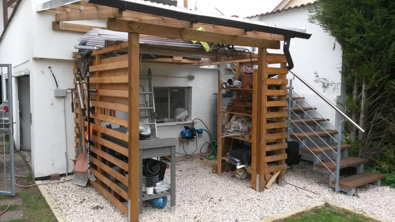 Full Size of Gartenüberdachung Ausbau Gartenberdachung Bauanleitung Zum Selberbauen 1 2 Do Garten Gartenüberdachung