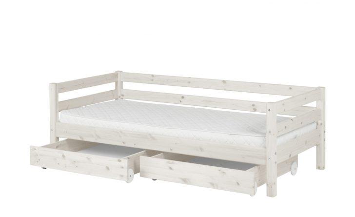 Medium Size of Flexa Bett Mit 2 Schubladen 90x200 Wei Kiefer Classic Rückenlehne Amerikanisches Amerikanische Betten Tojo V Weiß Esstisch Ausziehbar Badezimmer Hochschrank Bett Bett Mit Schubladen Weiß