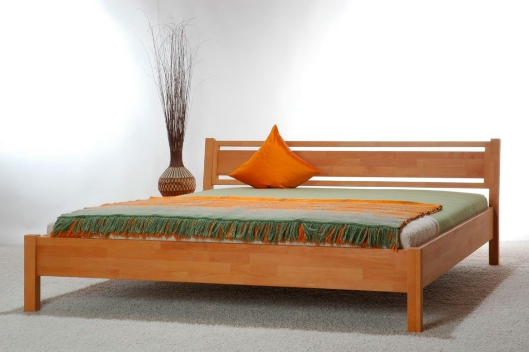 Massivholzbett Sira Bett 100x220 Buche Berlnge Betten On Popscreen