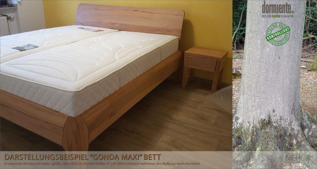 Large Size of Erhöhtes Bett Dormiente Massivholzbett 90x200 Weiß Schutzgitter Betten Aus Holz Weiße Outlet 120x200 Mit Matratze Und Lattenrost 200x220 Schubladen 160x200 Bett Erhöhtes Bett