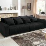Big Sofa Günstig In Schwarz Xxl Gnstig Online Kaufen Lifestyle4living Mit Hocker Grau Sofort Lieferbar Esstisch Leder überzug Kleines Wohnzimmer Marken Sofa Big Sofa Günstig