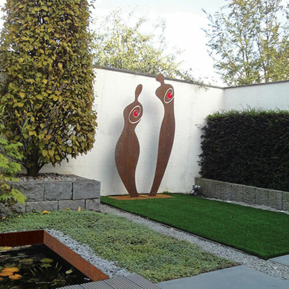 Full Size of Gartenskulpturen Aus Steinguss Stein Modern Kaufen Buddha Rostigem Eisen Garten Skulpturen Metall Beton Skulptur Edelstahl Gartendeko Moderne Mini Pool Wohnen Garten Garten Skulpturen
